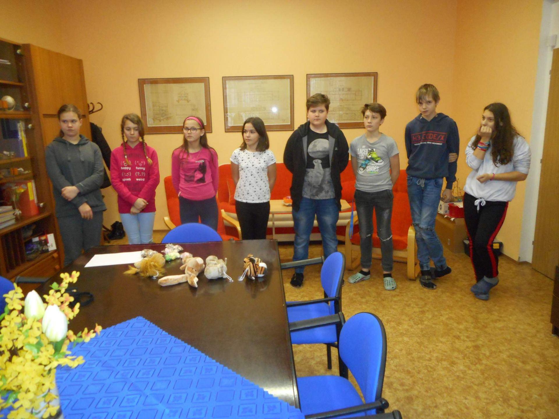 Recitační soutěž – školní kolo