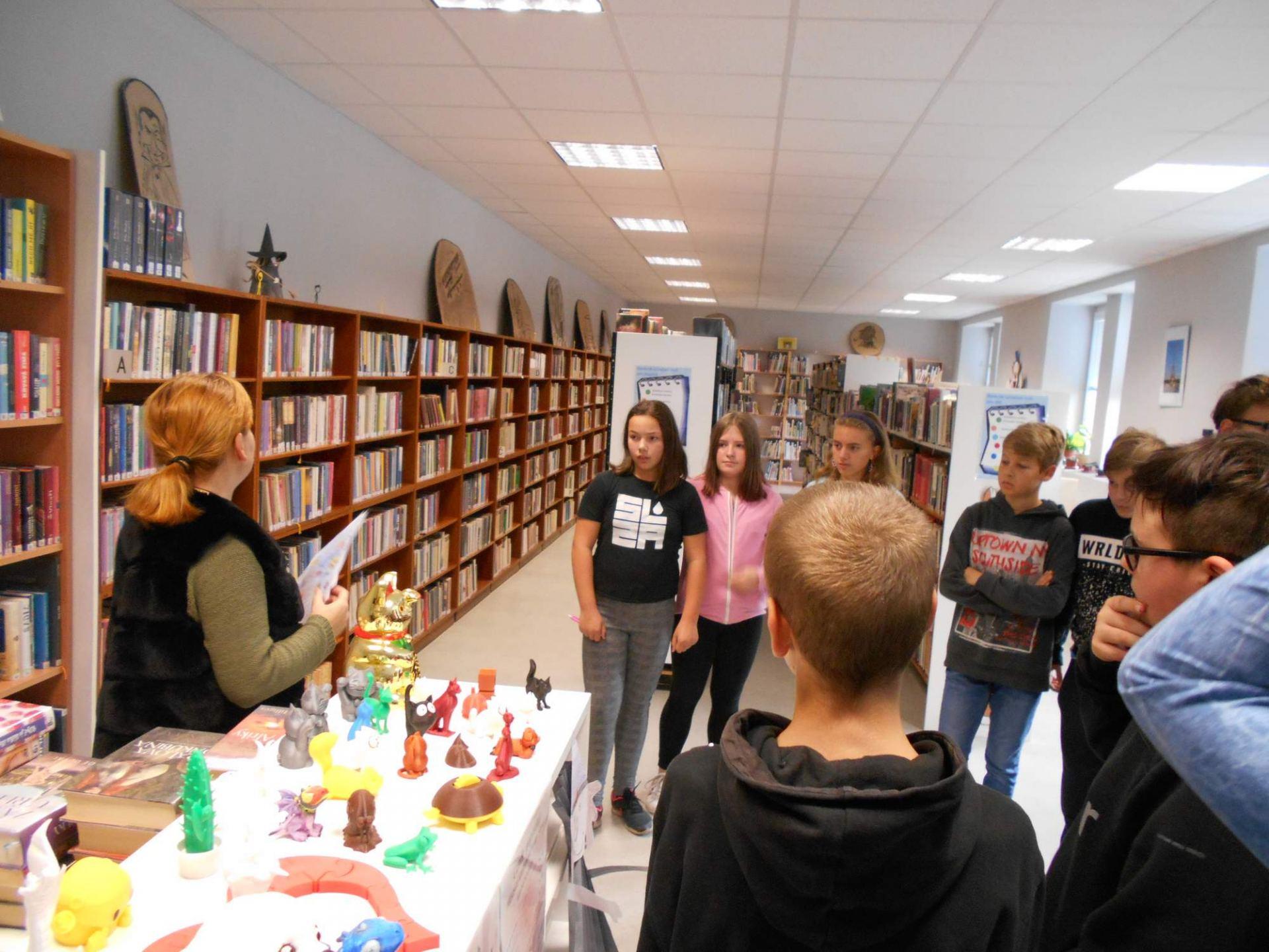 Návštěva knihovny ve Velkém Šenově