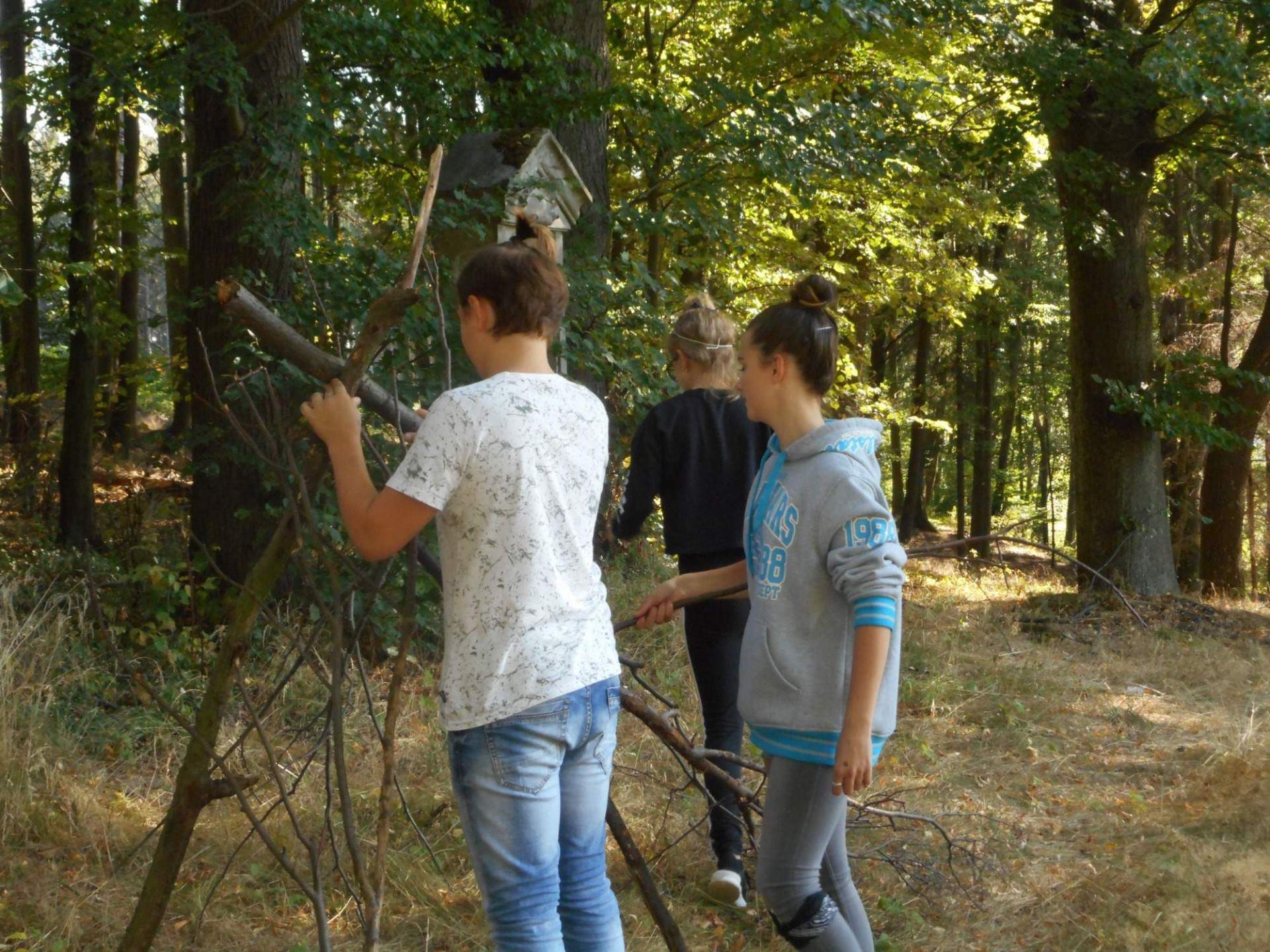 Práce s přírodninami při výtvarné výchově